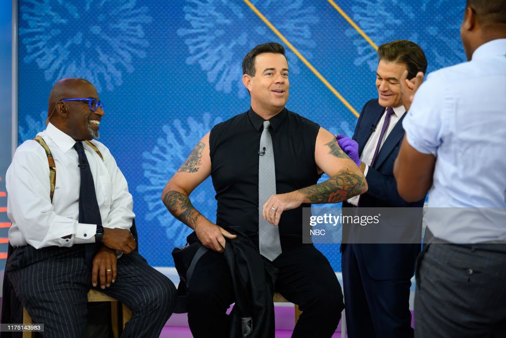 Flu Shots With Al Roker Carson Daly Dr Mehmet Oz On Wednesday