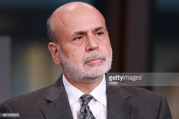 Former Federal Reserve Chairman Ben Bernanke in an exclusive interview with Squawk Box on October 5 2015