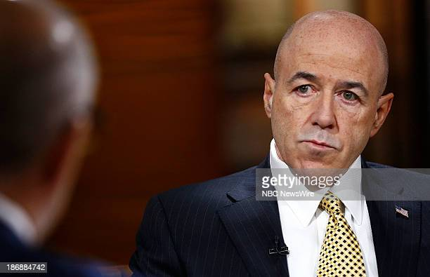 """Former NYPD commissioner Bernard Kerik appears on NBC News' """"Today"""" show on November 4, 2013 --"""