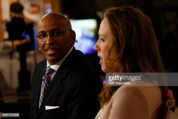 Former RNC Chair Michael Steele The Wall Street Journals Kimberley Strassel appear onMeet the Press in Washington DC Sunday Jan 29 2017