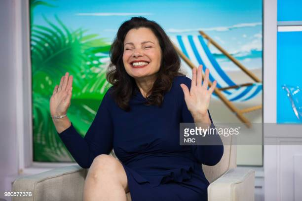 Fran Drescher on Thursday, June 21, 2018 --
