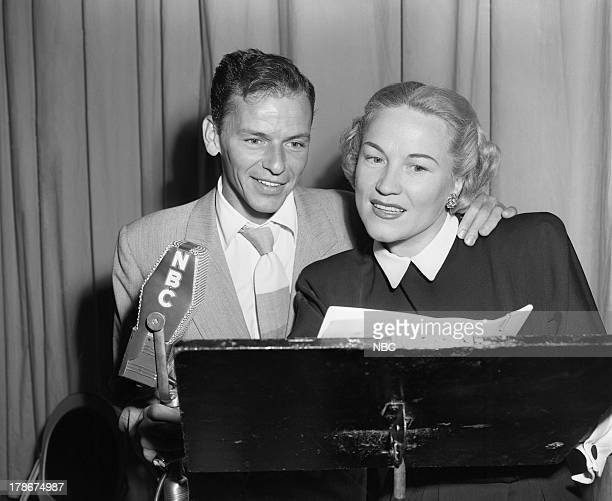 Frank Sinatra Dorothy Kirsten in 1949