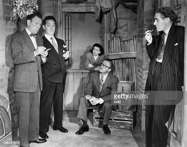 Fred Allen Kenny Delmar as Senator Claghorn Minerva Pious as Mrs Nussbaum Peter Donald as Ajax Cassidy Parker Fennelly as Titus Moody