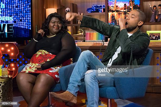 Gabourey Sidibe and Jussie Smollett