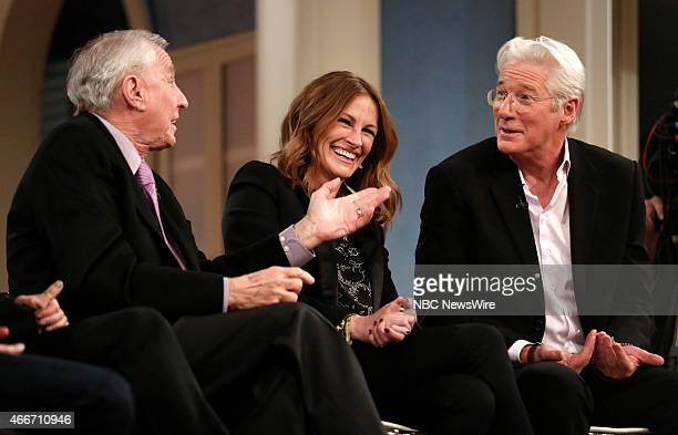 Garry Marshall Julia Roberts and Richard Gere appear on NBC News' 'Today' show