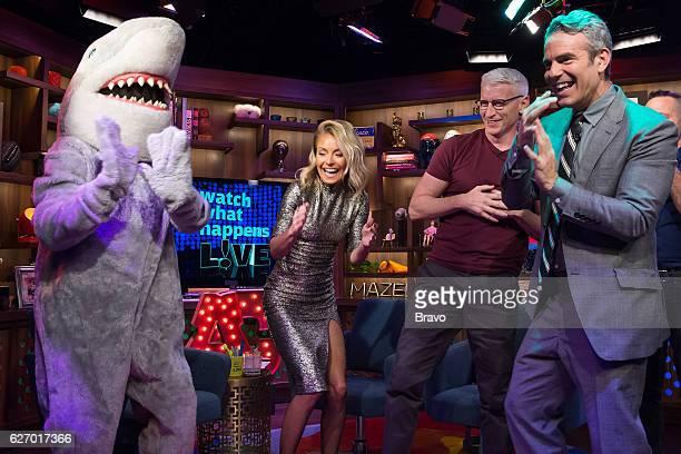 Gay Shark Kelly Ripa Anderson Cooper and Andy Cohen