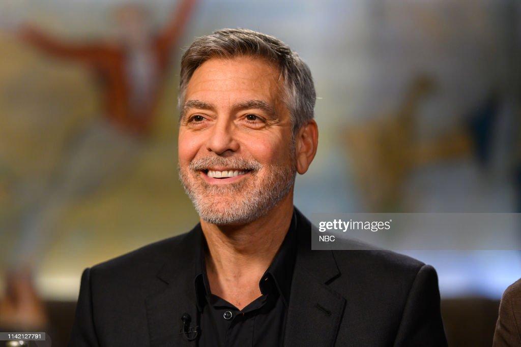 "NY: NBC's ""TODAY"" - George Clooney, Kyle Chandler, Christopher Abbott, Savavannah Guthrie"