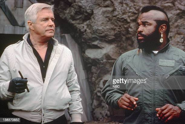 George Peppard as John 'Hannibal' Smith Mr T as BA Baracus
