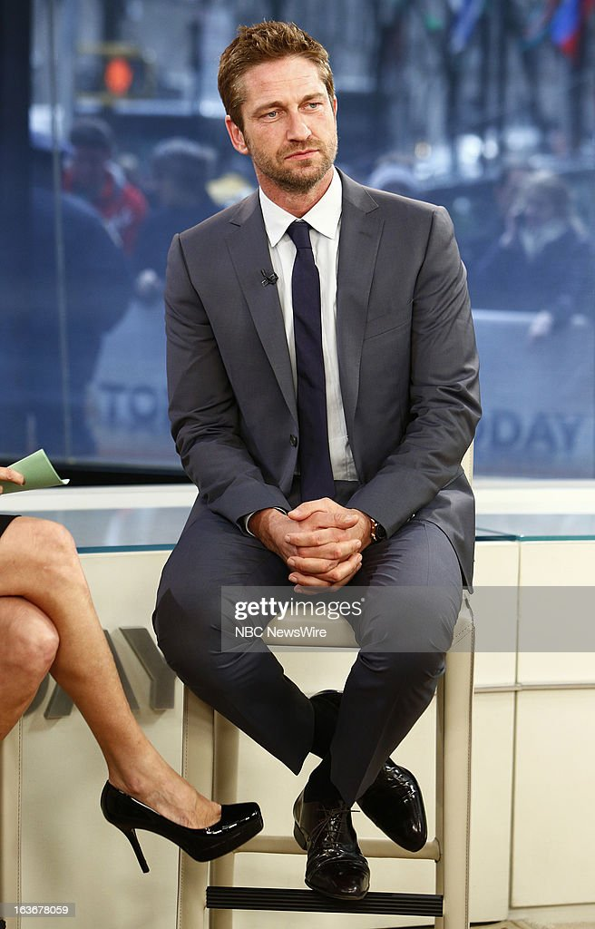 Gerard Butler appears on NBC News' 'Today' show --