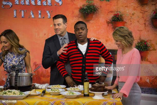 Giada De Laurentis Carson Daly Tracy Morgan and Dylan Dreyer on Tuesday April 3 2018