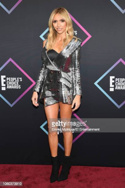 Pictured: Giuliana Rancic arrives to the 2018 E! People's Choice Awards held at the Barker Hangar on November 11, 2018 -- NUP_185068 --