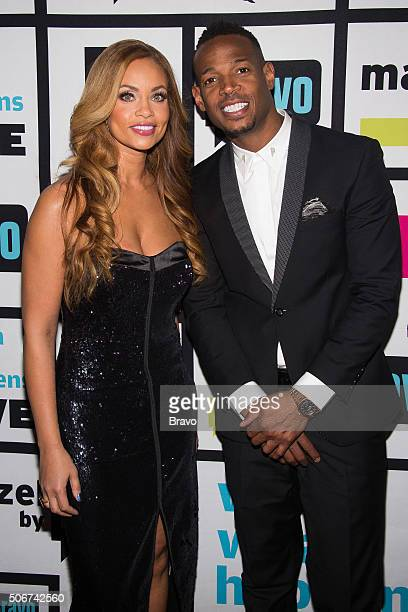 Gizelle Bryant and Marlon Wayans