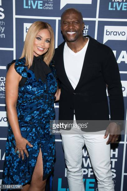 Gizelle Bryant and Terry Crews