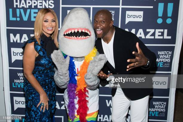 Gizelle Bryant Gay Shark and Terry Crews