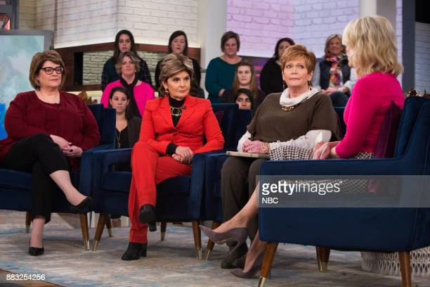 Gloria Allred Beverly Young Nelson and Megyn Kelly on Thursday November 30 2017