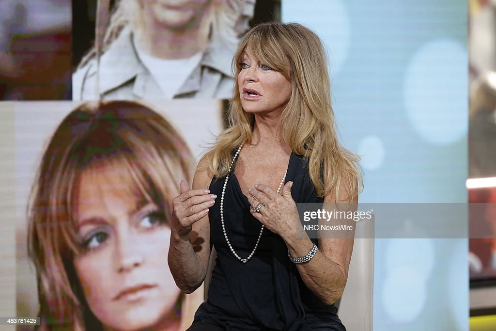 Goldie Hawn appears on NBC News' 'Today' show --