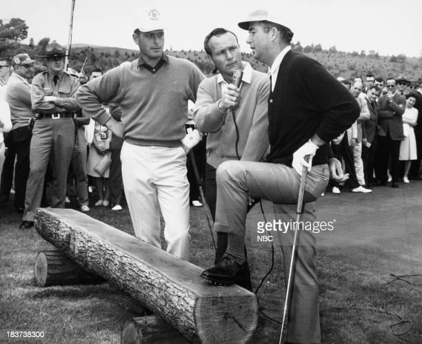 Golfers Bobby Nichols Arnold Palmer Ken Venturi c 1967