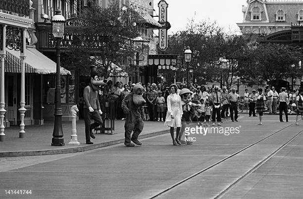 Goofy Pluto Julie Andrews Pinocchio performs on Main Street USA in the Magic Kingdom Photo by NBCU Photo Bank