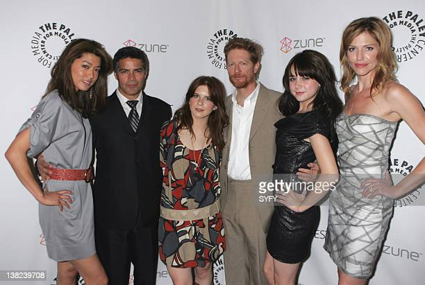 FEST '09 SALUTES BATTLESTAR GALACTICA AND CAPRICA Pictured Grace Park Esai Morales Magda Apanowicz Eric Stoltz Alessandra Torresani Tricia Helfer at...