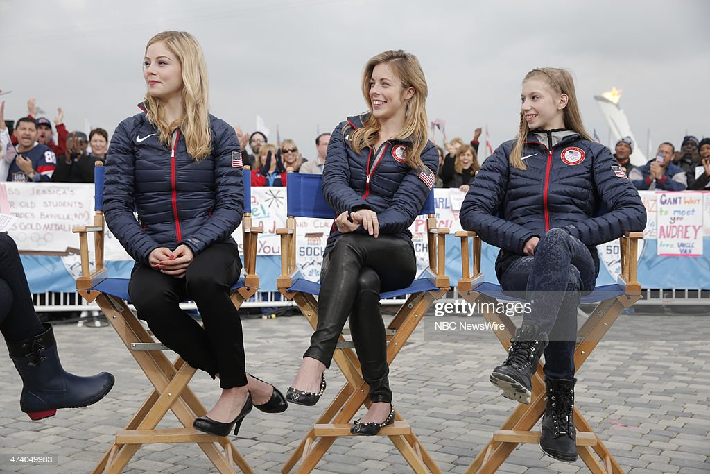 "NBC's ""Today"" From Sochi - With Guests Women's US Hockey Team, Gracie Gold, Ashley Wagner, Polina Edmunds"