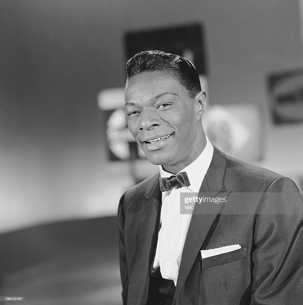 Grammy winner for 'Best Performance By a 'Top 40' Artist ' Nat King Cole during a special presentation of Grammy winning songs and performances from the 2nd Annual Grammy Awards