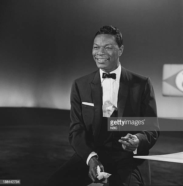 Grammy winner for 'Best Performance By a 'Top 40' Artist ' Nat King Cole during a special presentation of Grammy winning songs and performances from...