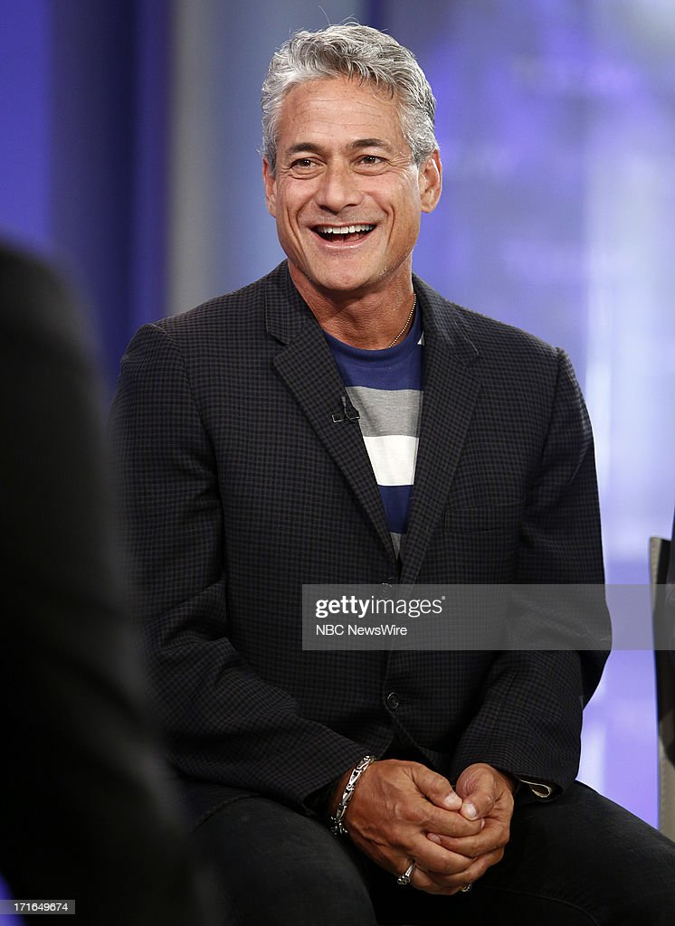 Greg Louganis appears on NBC News' 'Today' show --