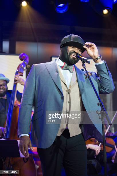 Gregory Porter on Wednesday December 13 2017