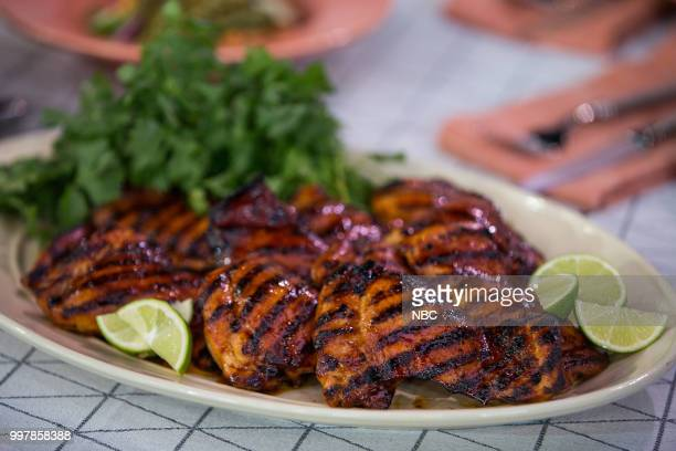 Grilled Chicken Thighs with Adobo Sauce on Thursday July 12 2018
