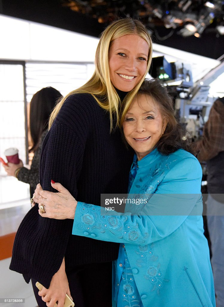 Gwyneth Paltrow and Loretta Lynn appear on the 'Today' show on Friday, March 4, 2016 in New York --