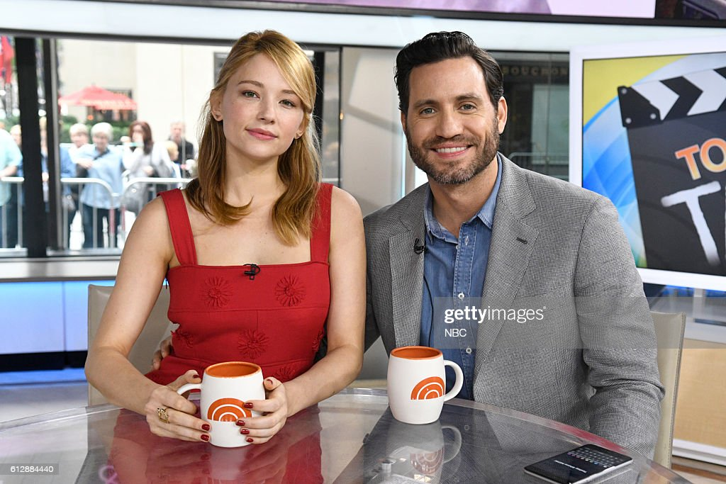 "NBC's ""Today"" With guests Abigail Spencer, Melissa Etheridge, Haley Bennett, Edgar Ramirez"
