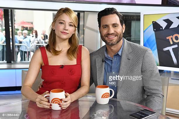 Haley Bennett and Edgar Ramirez on Monday October 3 2016