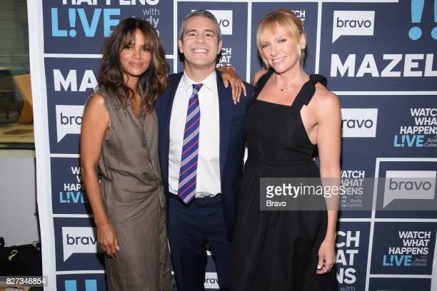 Halle Berry Andy Cohen and Toni Collette