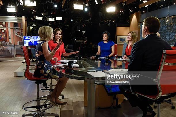 Hallie Jackson NBC News Correspondent Andrea Mitchell NBC News Chief Foreign Affairs Correspondent Kristen Welker NBC News White House Correspondent...