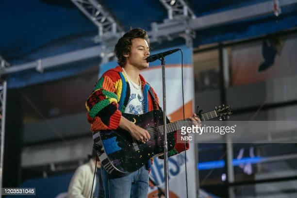 Harry Styles on Wednesday February 26 2020