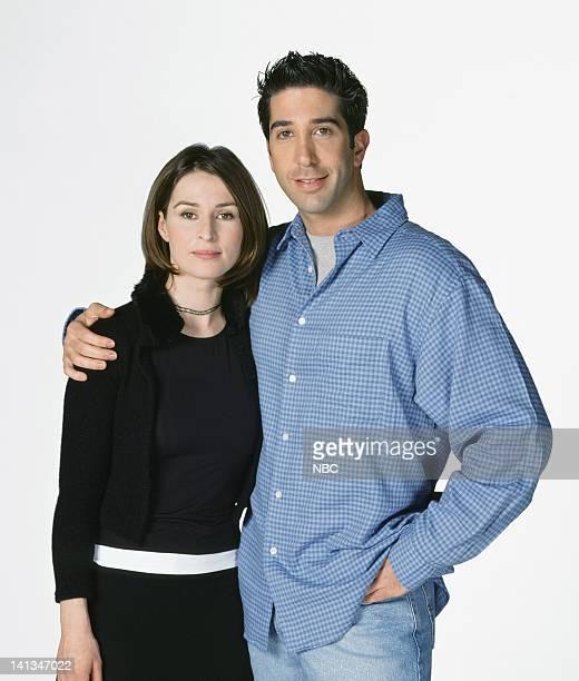 Helen Baxendale as Emily Waltham, David Schwimmer as Dr. Ross Geller -- Photo by: NBC/NBCU Photo Bank