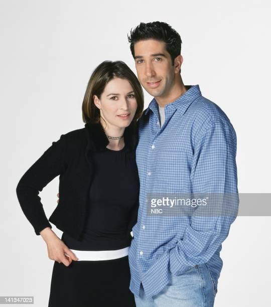 Helen Baxendale as Emily Waltham David Schwimmer as Dr Ross Geller Photo by NBC/NBCU Photo Bank
