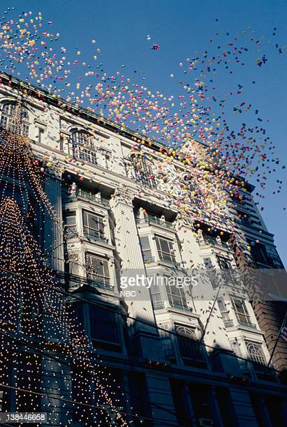 Helium balloons released during the 1981 Macy's Thanksgiving Day Parade