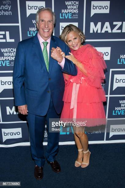 Henry Winkler and Amy Sedaris