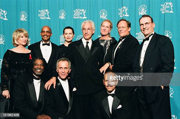 Hill Street Blues cast Taurean Blacque Bruce Weitz Joe Spano Barbara Bosson Michael Warren Veronica Hamel creator Steven Bochco Betty Thomas Charles...