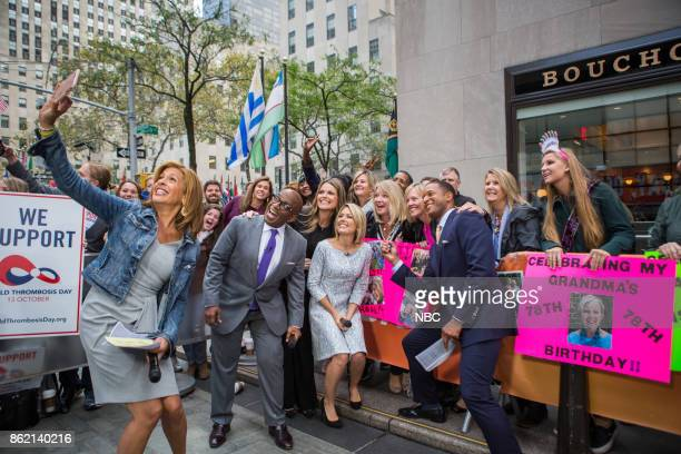 Hoda Kotb Al Roker Savannah Guthrie Dylan Dreyer and Craig Melvin on Friday October 13 2017