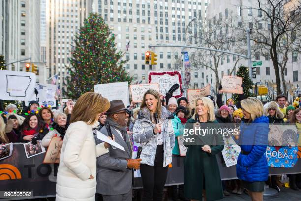 Hoda Kotb Al Roker Savannah Guthrie Megyn Kelly and Dylan Dreyer on Monday December 11 2017