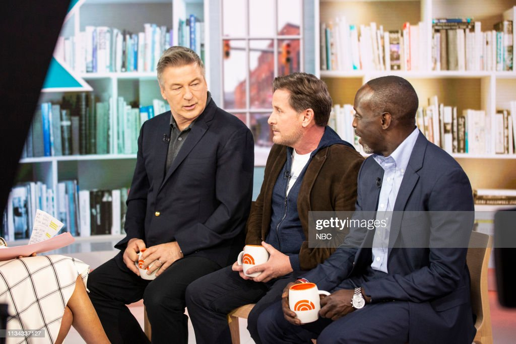 "NY: NBC's ""TODAY"" - Henry Winkler, Jake Owen, Emilio Estevez, Alec Baldwin and Michael K. Williams"