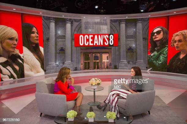 Hoda Kotb and Anne Hathaway on Thursday May 31 2018