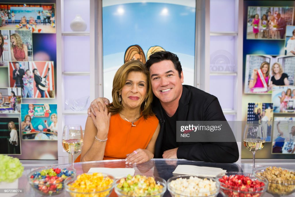"NBC's ""Today"" with guests Lou Manfredini, Dean Cain, Tara Lipinski"