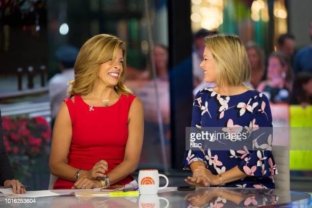 Hoda Kotb and Dylan Dreyer on Monday August 13 2018