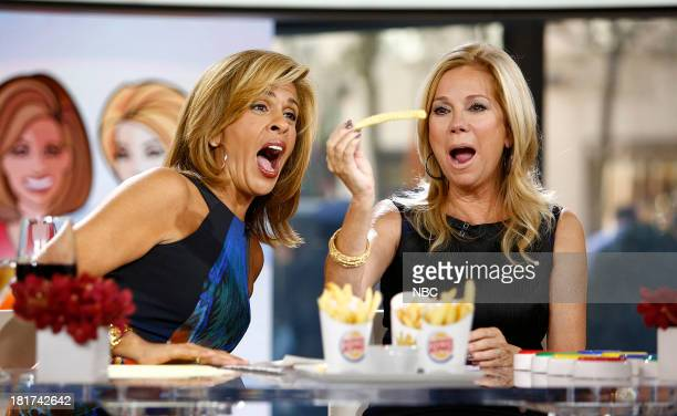 Hoda Kotb and Kathie Lee Gifford appear on NBC News' 'Today' show