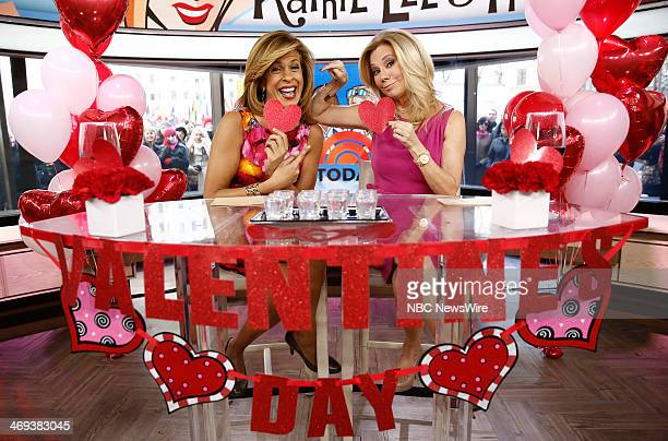 "Hoda Kotb and Kathie Lee Gifford appear on NBC News' ""Today"" show --"