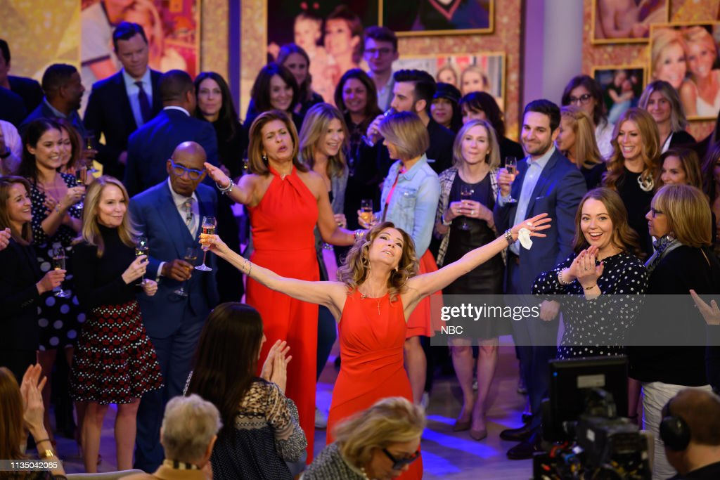 "NY: NBC's ""TODAY"" - Kathie Lee Gifford Final Show, Rita Wilson, Jodie Comer, Bruce Beck, Rental Clothes"