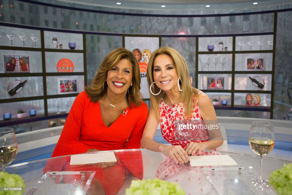 Hoda Kotb and Kathie Lee Gifford on Monday, April 16, 2018 --